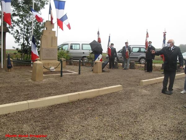 L'hommage aux maquisards de la ferme Sainte-Marie, un reportage de René Drappier