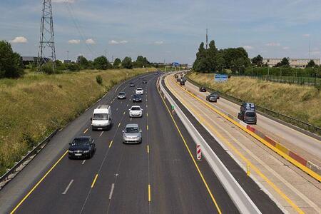 L'autoroute A10 rénovée avec du bitume 100 % recyclé