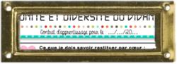 Unité et diversité du vivant