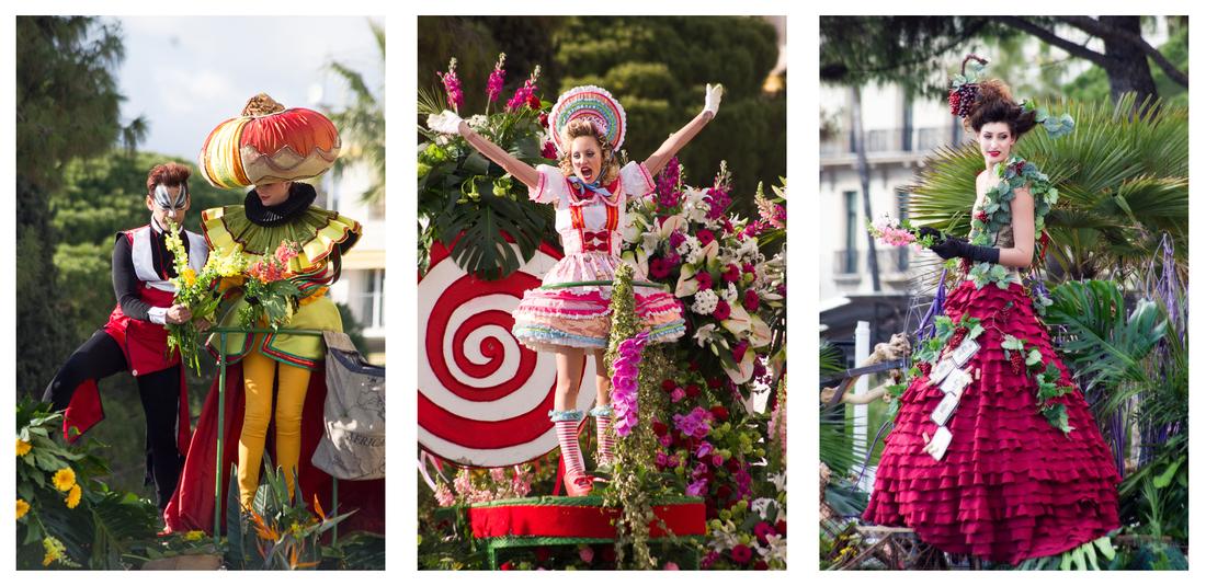 Carnaval de Nice: Bataille des fleurs 2