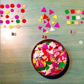 Ateliers, jeux autour des maths : le tri