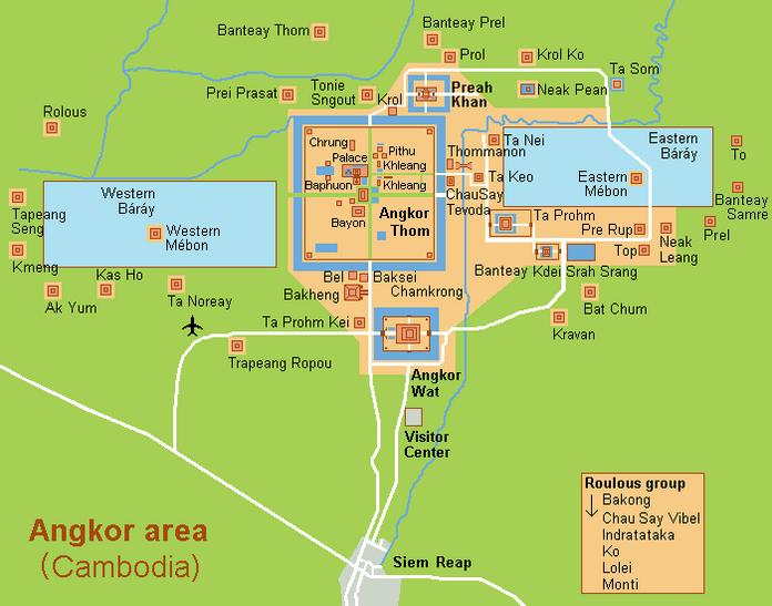 Angkor, Cambodge 2011