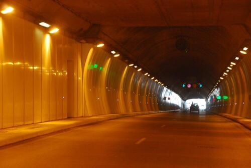Le tunnel des Ouadïas