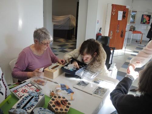 Musons avec les muses au musée- Visite de l'Ehpad de Méricourt