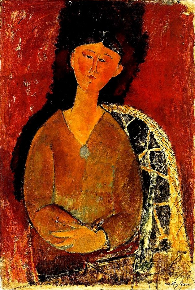 Modigliani 4 / Béatrice Hasting (2)