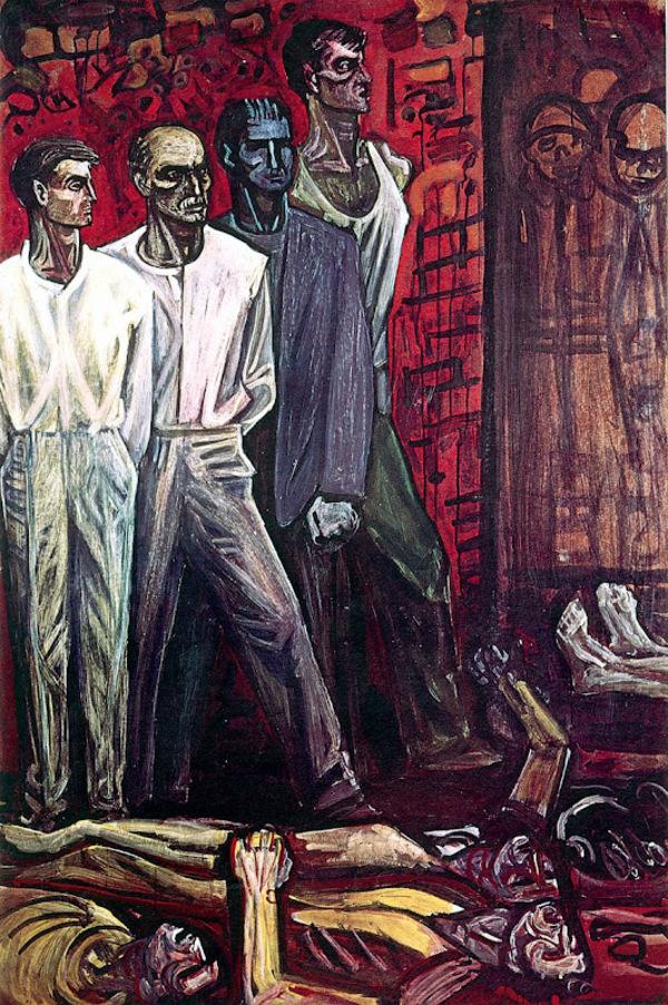 Valias Semertzidis, peintre de la révolte