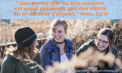 Proverbes 25 - Lecture et Prière