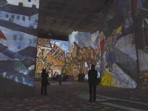 Chagall aux carrières de lumière