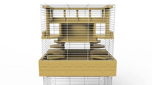 La cage, ma maison