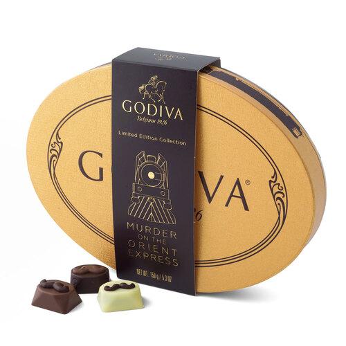 Hercule Poirot fait sa grande entrée chez votre chocolatier Godiva !