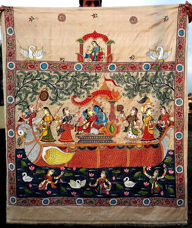 tussar paintings odisha