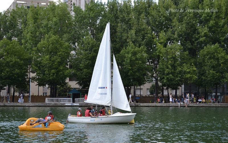 Paris Plages 2014, Bassin de la Villette : Canoë-kayak, aviron, voile et pédalos !