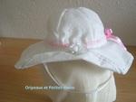 --Chapeau style capeline.........