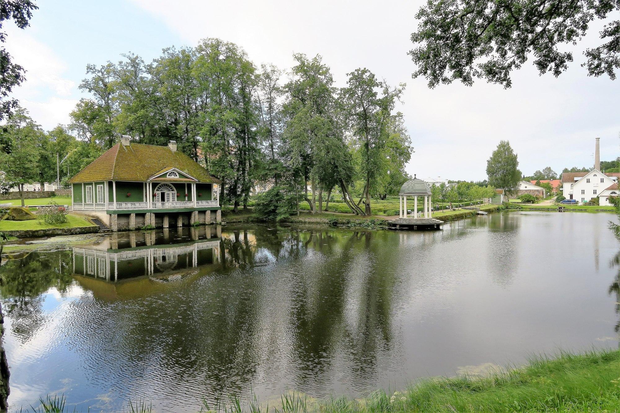 PALMSE MÕIS (EE) Le parc du château