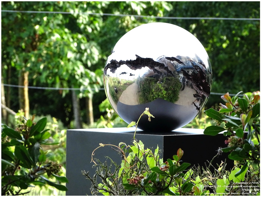 PORNIC - L'Art des Sens - Expo sculptures de Philippe Roy 2017
