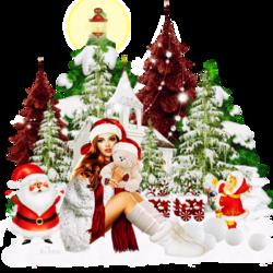Éphéméride Noël dans la nature code inclus