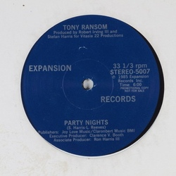 Tony Ransom - Party Nights