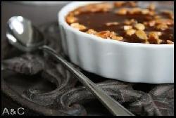 Tartelette fromage blanc /chocolat/caramel