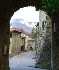 12 janvier 2011 - Auriples - le château de Soyans