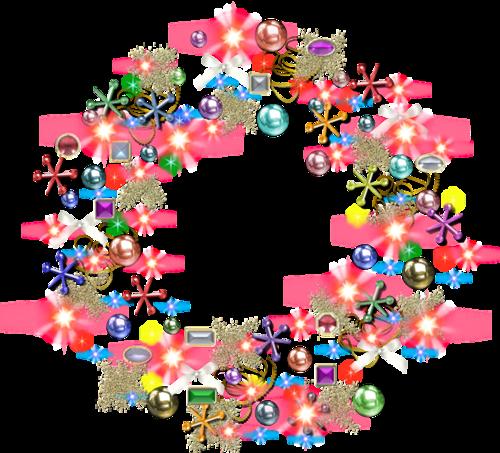 Couronnes de Noël Série 4
