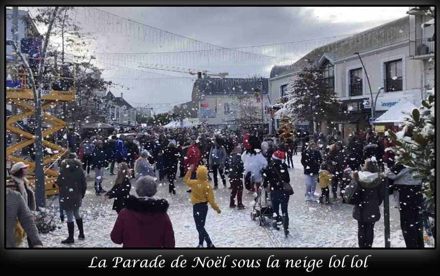 «La ville est en mode Noël »