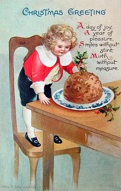 Le pudding!