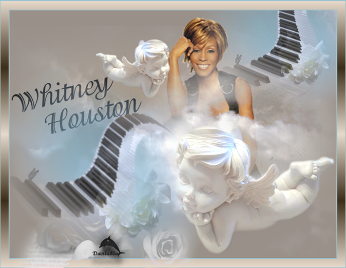 Mes créations Whitney Houston