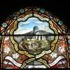 Détail vitrail St-Hippolyte