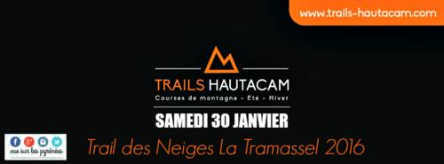 Trail des Neiges Hautacam 2016