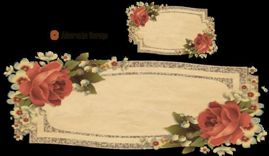 Boutons floral et décoratifs pour blogs