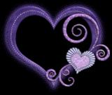 *** Coeur Violet ***
