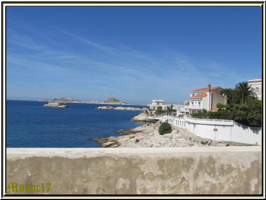Le petit train touristique de Marseille