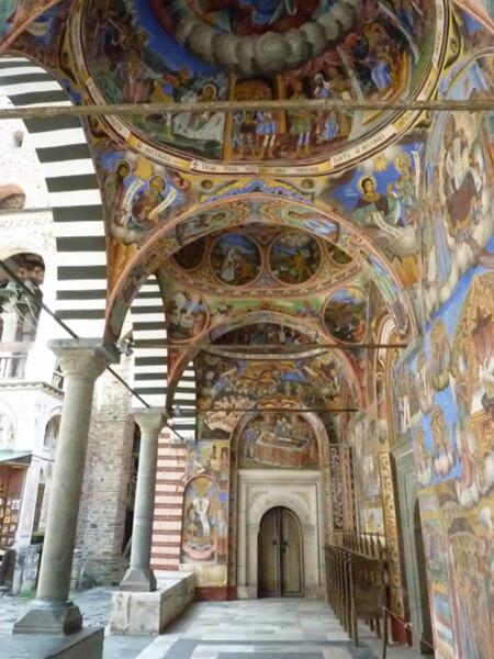 Jour 3 - Rila monastère - Enfilade d'ogives 2