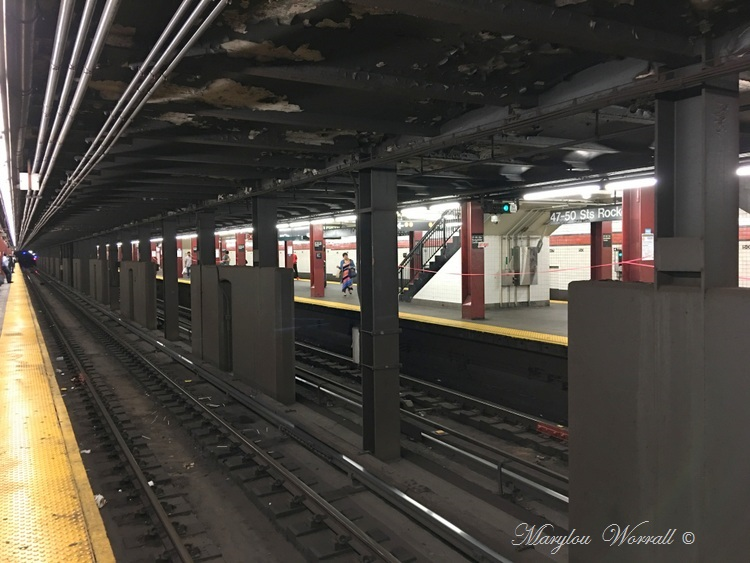 New-York : Le métro