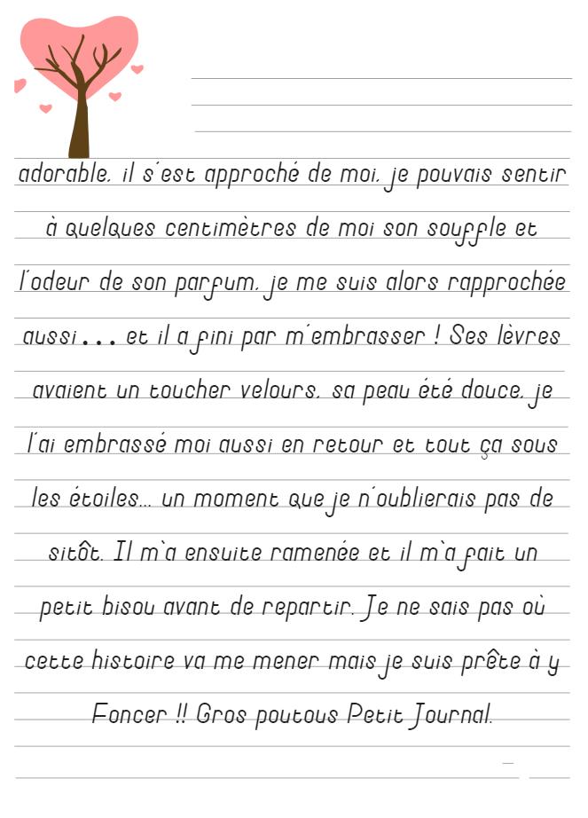 Journal de Mireille, 3 Juillet 2019