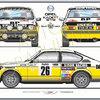 Opel Kadett Gte 2l0 Monte Carlo