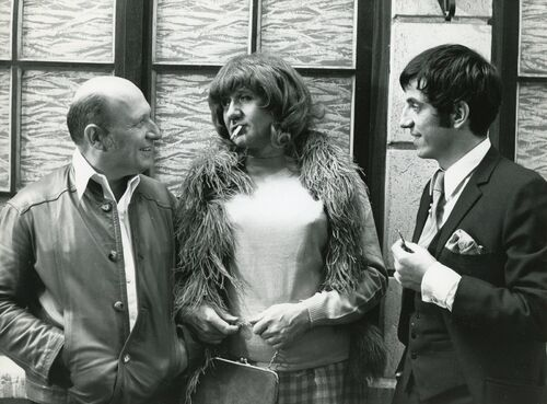 """Jean Richard dans """" Béru et ses dames"""""""