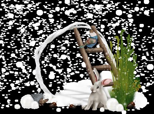 Cadres t Clusters de Noël Série 19