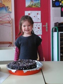 Le gâteau de Charline