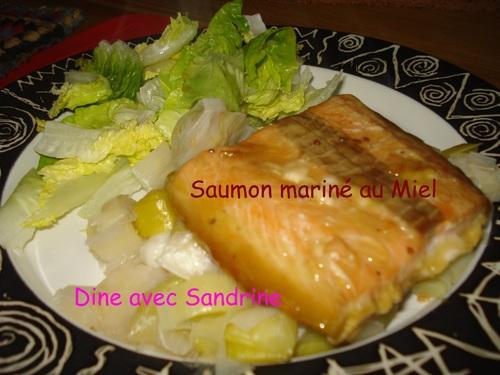 Du Saumon mariné au Miel