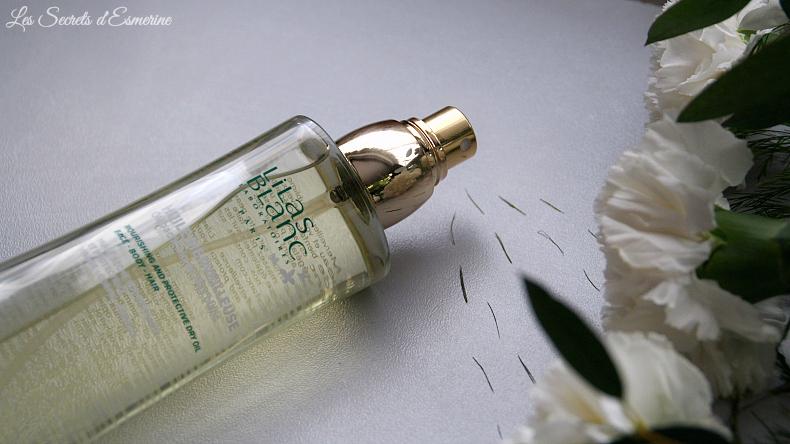 l'huile merveilleuse bio de Lilas Blanc