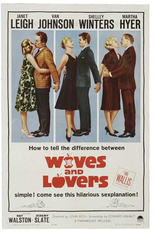 WIVES AND LOVERS US BOX OFFICE 1963