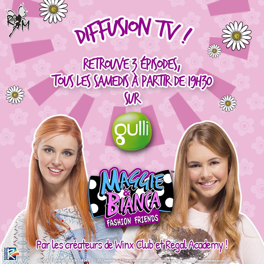 Maggie & Bianca : Tous les samedis sur Gulli !