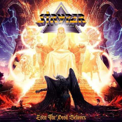 """STRYPER - Les détails du nouvel album Even The Devil Believes ; """"Blood From Above"""" Lyric Video"""