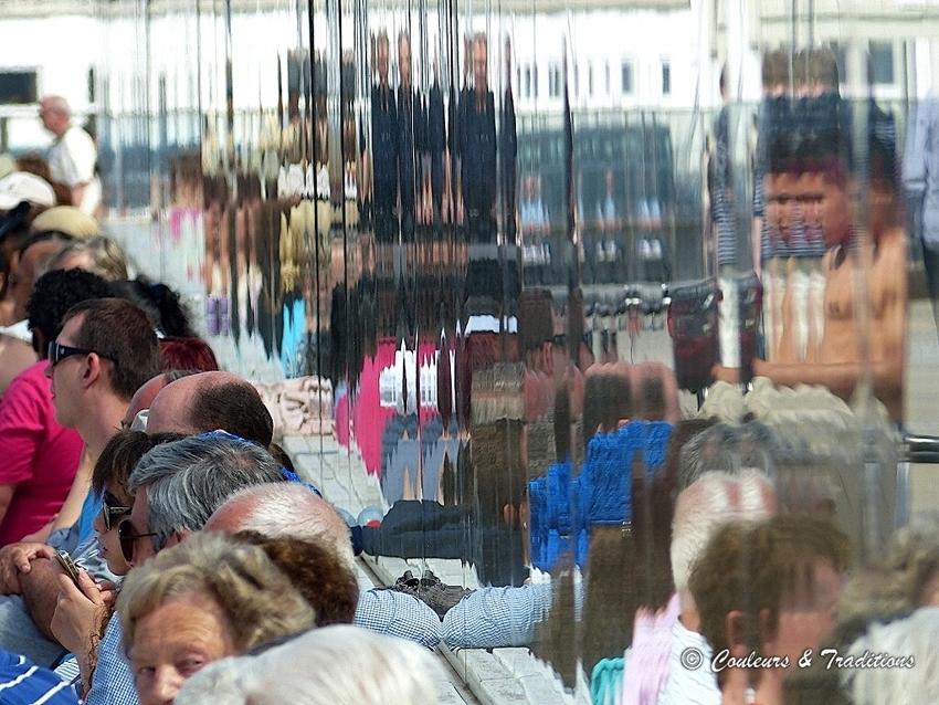 Les touristes en balade