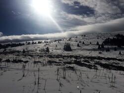 Soleil & raquettes du 9 février