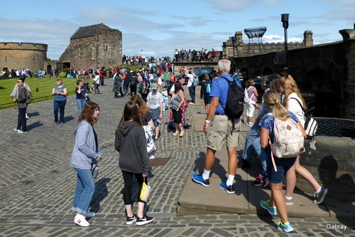Édimbourg: le château ...