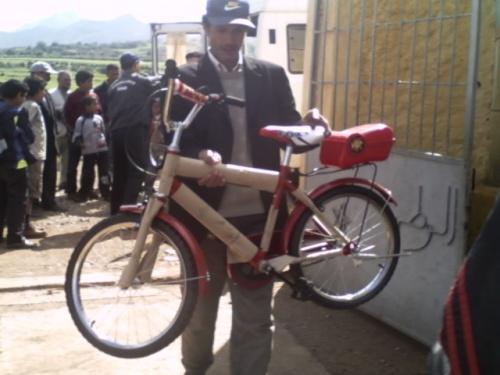 ربورتاج مصور: حفل توزيع الدراجات الهوائية على التلاميذ في دوار بويخباش اركمان