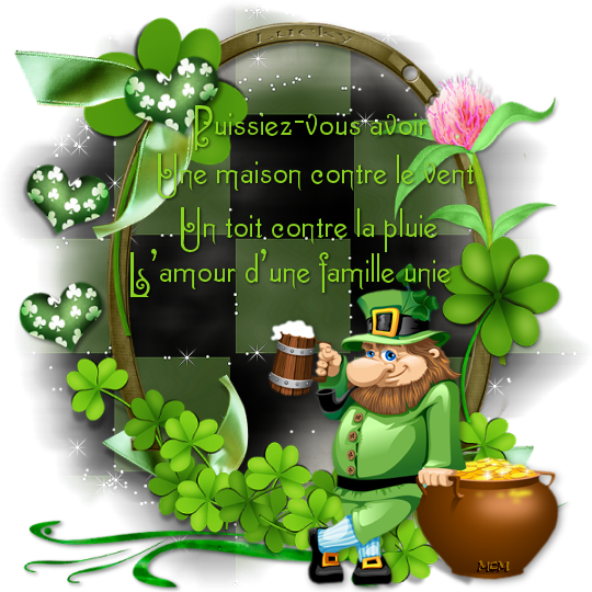 17 mars : St Patrick - Milfontaines