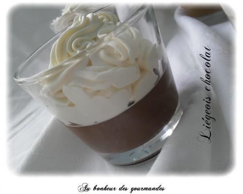 Liégeois café et chocolat